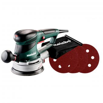 Metabo Exzenterschleifer SXE 450 Turbotec Set