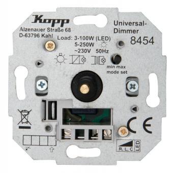 Kopp Universal Druckwechsel-Dimmer ohne Nebenstellenanschluss