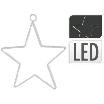 Koopman Stern mit LED-Beleuchtung 27 x 28 cm